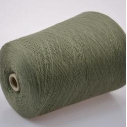 Lanerossi Пряжа на бобинах Folco материал меринос+акрил  цвет зеленой дымки