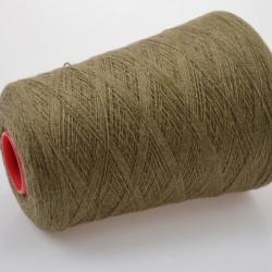 Carriagi Пряжа на бобинах Cashmere материал кашемир цвет древесный в оливу