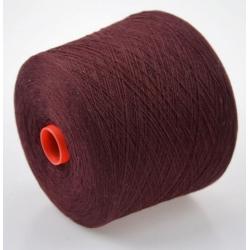 Carriagi Пряжа на бобинах Cashmere материал кашемир цвет вино-коньячный
