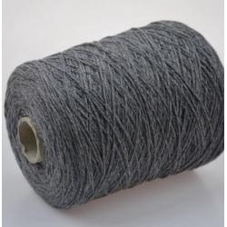 New Mill Пряжа на бобинах Regent Lux материал кашемир цвет  серый