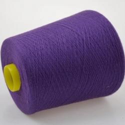 Biagioli Modesto Пряжа на бобинах Mall Old Dyed  материал кашемир, шелк цвет лиловый