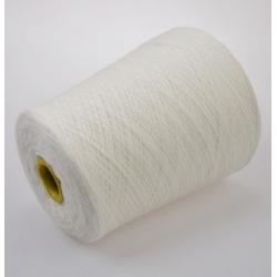 Loro Piana Пряжа на бобинах Cashmere материал кашемир  цвет белый