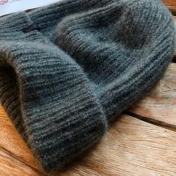 МК для ручного вязания Головной убор женская шапка
