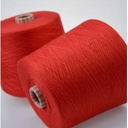 Sudwolgroup Пряжа на бобинах Crystal материал меринос, кашемир цвет красный