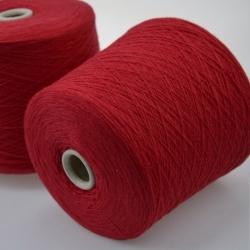 Zegna Baruffa Пряжа на бобинах  Supergeelong материал меринос цвет красная малина