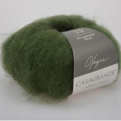 Casagrande Моточная пряжа Vogue материал суперкидмохер, шелк цвет припыленный малахит 008