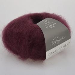 Casagrande Моточная пряжа Vogue материал суперкидмохер, шелк цвет бордо 019