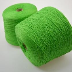 Emilcotoni Пряжа на бобинах Cottone материал хлопок цвет  французская зелень