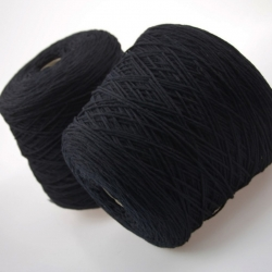 Lanecardate  Пряжа на бобинах Simba материал меринос  цвет черная