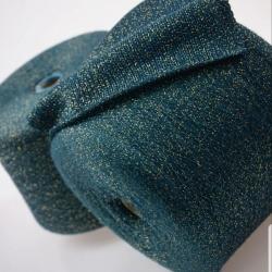 Италия Пряжа на бобинах Ziche Stradustor материал меринос с люрексом цвет изумруд