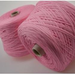 Италия Пряжа на бобинах Filcompany Rosalba материал хлопок цвет розовый зефир
