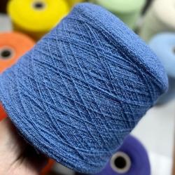 Prisma Richerche Пряжа на бобинах Crimp материал меринос цвет голубая лаванда