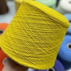 Prisma Richerche Пряжа на бобинах Crimp материал меринос цвет лимонный