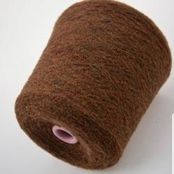 Zegna Baruffa Пряжа на бобинах Mousse материал вспушенный меринос цвет багрянец