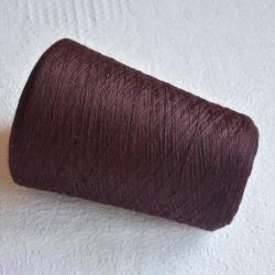 Lanerossi Пряжа на бобинах Folco материал меринос+акрил  цвет слива в шоколаде