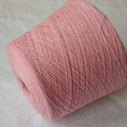 Zegna Baruffa Пряжа на бобинах Kent 2/18 материал меринос цвет розовая пастила