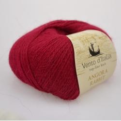 Vento d'Italia Моточная пряжа Angora 70 Rabbit материал ангора цвет гранат  18