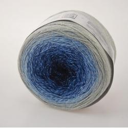 Yarnart Моточная пряжа Flowers Moonlight материал хлопок +люрекс цвет  мултиколор 3271
