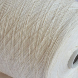 New Mill Пряжа на бобинах Lustroso материал лен цвет сливочный