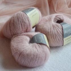 Casagrande Моточная пряжа La Perla материал альпака, шелк цвет пыльная роза