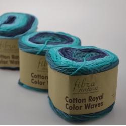 Fibranatura Моточная пряжа Cotton Royal материал  хлопок цвет мултиколор 22-11