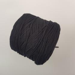 Botto Poala Пряжа на бобинах Supergeelong материал меринос цвет черный