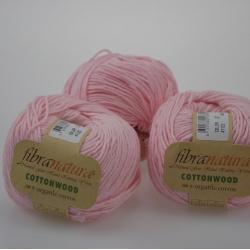 Fibranatura Моточная пряжа Cottonwood материал органический хлопок нежно-розовый 41122