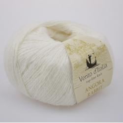 Vento d'Italia Моточная пряжа Angora 70 Rabbit материал ангора цвет белый 06