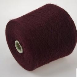 Loro Piana Пряжа на бобинах Cashmere материал кашемир  цвет  new burgundy