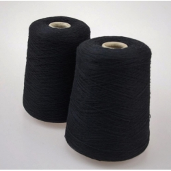 Gruppo Filpucci Пряжа на бобинах Mongolia материал кашемир, шелк цвет черный