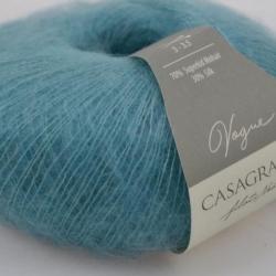 Casagrande Моточная пряжа Vogue материал суперкидмохер, шелк цвет нефрит 568