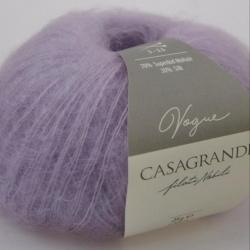Casagrande Моточная пряжа Vogue материал суперкидмохер, шелк цвет лаванда 704