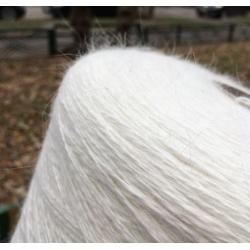Millefili Пряжа на бобинах Angora 80 материал ангора цвет молочный
