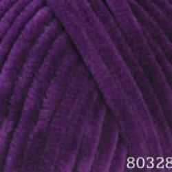 Himalaya Моточная пряжа Dolphin Baby материал  смесовка цвет фиолет 80328