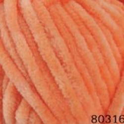 Himalaya Моточная пряжа Dolphin Baby материал  смесовка цвет персик 80316